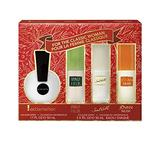 Coty Fragrance 4-Piece Gift Set with Exclamation, Sand & Sable, Jovan, and Vanilla Fields, 1 x 1.7-Ounce and 3 x 1-Ounce