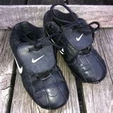 Nike Shoes | Black Nike Kids Soccer Cleats! Vguc! | Color: Black/White | Size: 1b