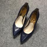 Michael Kors Shoes | Blue Michael Kors Flex Pump 3 Heels | Color: Blue | Size: 7