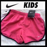 Nike Bottoms | Bnwt Nike Girls Dri-Fit Shorts | Color: Black/Pink | Size: Mg