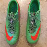 Nike Shoes | Boys Nike Mercurial Vapor Soccer Cleats | Color: Green | Size: 6b