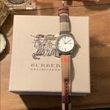Burberry Accessories | Burberry Womens Heritage Watch | Color: Brown/Red | Size: Os