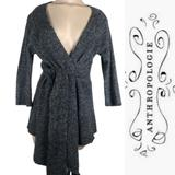 Anthropologie Sweaters   Anthropology Birds On Wire Wrap Cardigan Sweater   Color: Gray   Size: S