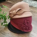 Nine West Accessories   2 - Nine West Wool Hats   Color: Black/Red   Size: Os