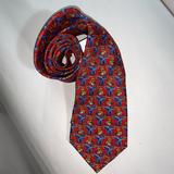 Burberry Accessories | Auth Burberry Silk Twill Necktie | Color: Blue/Red | Size: Os