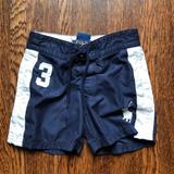 Polo By Ralph Lauren Swim | Boys Polo Swim Trunks | Color: Blue/White | Size: 3tb