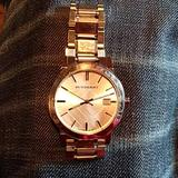 Burberry Accessories   Authentic Burberry Unisex Wrist Watch   Color: Silver   Size: Os