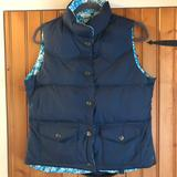 American Eagle Outfitters Jackets & Coats   American Eagle Puffer Vest Floral Reversible   Color: Blue   Size: M