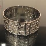 Coach Jewelry | Authentic Coach Bangle Bracelet | Color: Silver | Size: Os