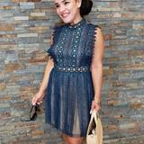 Free People Dresses | Beautiful Teal Lace Dress | Color: Blue/Green | Size: 6