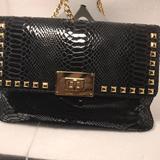 Michael Kors Bags | Black Patent Leather Clutchpurse | Color: Black | Size: Os