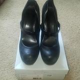 Jessica Simpson Shoes   Black Platform Mary Janes   Color: Black   Size: 9
