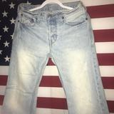 American Eagle Outfitters Jeans | American Eagle Jeans 28 X 28 Light Vintage Wash | Color: Blue | Size: 28