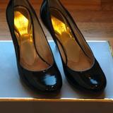 Michael Kors Shoes | Black Patent Leather Heel Pumps By Michael Kors | Color: Black | Size: 5.5
