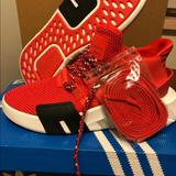 Adidas Shoes | Adidas Originals Eqt Bask Adv 91-18 | Color: Red | Size: 5.5