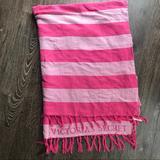 Victoria's Secret Bedding | Bogo Victorias Secret Pink Striped Blanket | Color: Pink | Size: Os