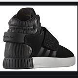 Adidas Shoes   Adidas Tubular Invader Strap Zebra Tennis Shoes   Color: Black   Size: 4.5bb