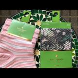 Kate Spade Accessories | Brand New Kate Spade Socks - 2 Pairs | Color: Black | Size: 9-11