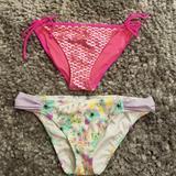 Victoria's Secret Swim   Bundle Victoriq Secrets Swim   Color: Pink/Purple   Size: L