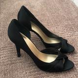 Nine West Shoes   Black Peep Toe Stiletto Heels   Color: Black   Size: 7.5