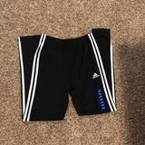 Adidas Bottoms | Boys Large Adidas Soccer Training Pants | Color: Black/White | Size: 1416