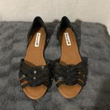 American Eagle Outfitters Shoes | American Eagles Black Casual Flat Women Shoes | Color: Black | Size: 7.5