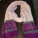 American Eagle Outfitters Accessories | American Eagle Scarf Gently Used | Color: Pink/Purple | Size: Os