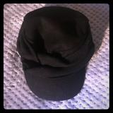 Nine West Accessories   Black Newsboy Hat   Color: Black   Size: Os