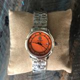 Tory Burch Accessories   Bailey Watch, Two-Tone Stainless Steelgoldorange   Color: Gold/Orange   Size: Os
