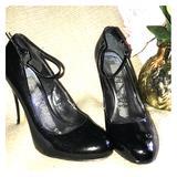 Nine West Shoes | Black Patent Mary Janes, 7m, Nine West | Color: Black | Size: 7