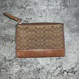 Coach Bags | Authentic Coach Zippy Keychain Wallet | Color: Brown | Size: Os