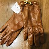 Coach Accessories | Brand New With Tag- Coach Leather Gloves | Color: Tan | Size: Os