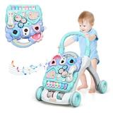 Costway Baby Sit-to-Stand Learning Walker Toddler Musical Toy