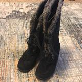 American Eagle Outfitters Shoes   American Eagle   Winter Knee-High Black Boots     Color: Black   Size: 9.5