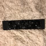 J. Crew Accessories   Brand New J. Crew Embellished Belt   Color: Black   Size: Xss
