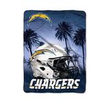 The Northwest Company Multi NFL Los Angeles Chargers Heritage Silk Touch Throw