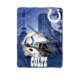 The Northwest Company Multi NFL Indianapolis Colts Heritage Silk Touch Throw