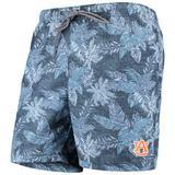 """Men's Tommy Bahama Navy Auburn Tigers College Faded Palms Swim Shorts"""
