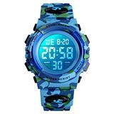 Tephea Watch for Kids Digital Watch for Boys Girls Watch Multi Function LED Waterproof Watch for Kids with Alarm Wrist Watches Birthday Gift, Blue