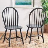 Safavieh Home Camden Farmhouse Grey Spindle Back Dining Chair, Set of 2