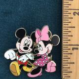 Disney Accessories | 2 For $10 Sale 2008 Disney Mickie Minnie Pin | Color: Black/Gold | Size: Os