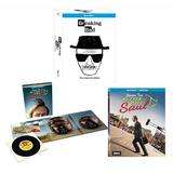 Ultimate Breaking Bad / Better Call Saul Blu-ray Collection: Breaking Bad: The Complete Series / Better Calls Saul: The Complete First & Second Season (Seasons 1 & 2) [Walter White vs. Saul G