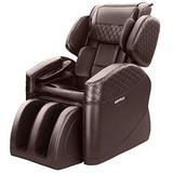 KTN 2020 New Massage Chairs, Zero Gravity Massage Chair, Full Body Massage Chair with Lower-Back Heating, Seat Vibration and Foot Roller (Brown)