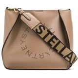 Stella Logo Shoulder Bag - Brown - Stella McCartney Shoulder Bags