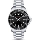 Series 800 Dial Stainless Steel Watch - Metallic - Movado Watches