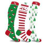 Christmas Holiday Compression Socks - LG/XL