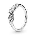 Ring Engelsflügel aus Sterlingsilber mit Zirkonia