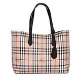 Burberry Bags   Burberry Medium Reversible Black Tote Bag   Color: Black/Tan   Size: 14.5l X 5.5w X 11.5h