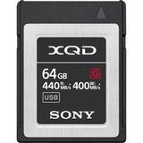 Sony 64GB G Series XQD Memory Card QDG64F/J