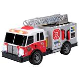 Kid Galaxy City Worker Fire Truck Vehicle Featuring Lights and Sounds, Multicolor